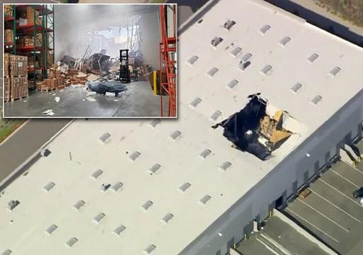 سقوط طائرة إف-16 في قاعدة لسلاح الجو الأمريكي