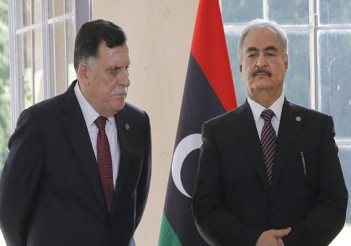 مسؤول تابع لحفتر يشير إلى فشل اجتماع الأخير بالسراج في أبوظبي