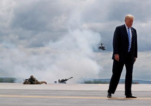 كتاب بولتون.. ماذا طلب ترامب من العرب لبقاء قواته في المنطقة؟