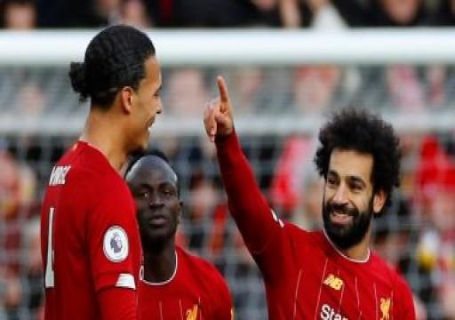 ليفربول يهزم واتفورد بأقدام محمد صلاح في الدوري الإنجليزي