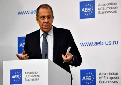 """لافروف ينتقد محاولات ترامب فرض ما يعرف بـ""""الناتو العربي"""" في الشرق الأوسط"""