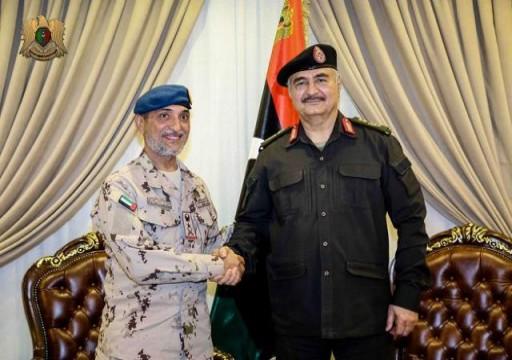 مصدر أوروبي يزعم أن أبوظبي وكيل لمخططات فرنسا في ليبيا وتحييدها سهل