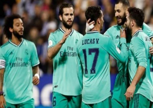 ريال مدريد يسحق سرقسطة ويبلغ دور الثمانية في كأس ملك إسبانيا