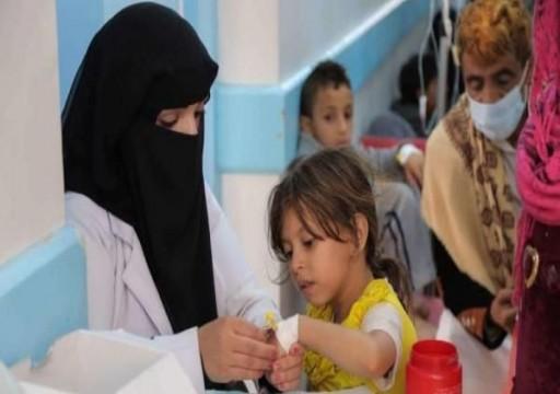 """""""يونيسف"""" ترصد 137 ألف إصابة بالكوليرا في اليمن منذ مطلع 2020"""