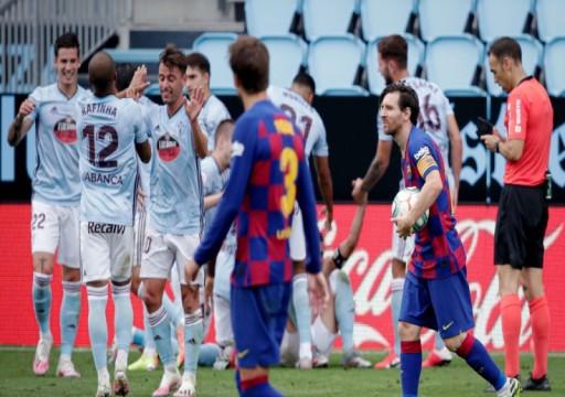 هدف أسباس القاتل يوجه لطمة لآمال برشلونة في الدوري الإسباني