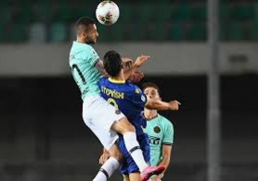 الدوري الإيطالي: خيبة أمل جديدة لإنتر ميلان بعد أن خطف فيرونا التعادل