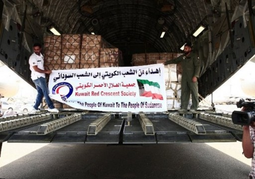 وصول مساعدات كويتية وسعودية لمتضرري الفيضانات بالسودان