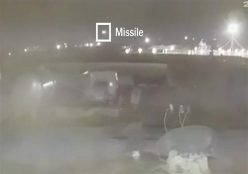 نيويورك تايمز: مقطع مصور جديد يظهر إصابة الطائرة الأوكرانية بصاروخين إيرانيين