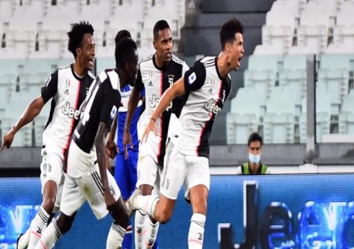 يوفنتوس يتوّج رسميا بلقب الدوري الإيطالي للمرة التاسعة على التوالي
