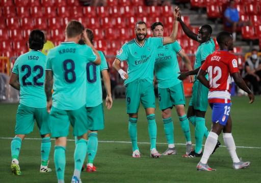 ريال مدريد يستعد للتتويج وسط احتفالات مكبوتة