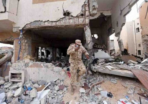 الحكومة الليبية: طيران إماراتي مسير يستهدف مدخل سرت