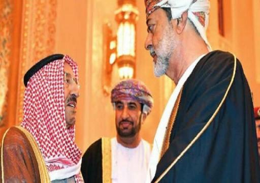 بن علوي ينقل رسالة سلطان عمان إلى أمير الكويت