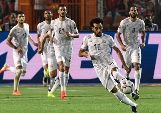مصر تهزم أوغندا في أمم أفريقيا وتحقق الانتصار الثالث على التوالي