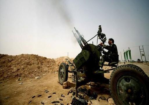 قوات الوفاق الليبية تعلن تدمير مخزن ذخيرة لميليشيات حفتر