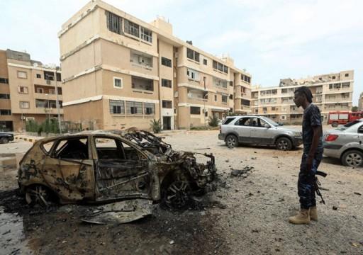 ليبيا.. 14 جريحا بقصف لحفتر على مستشفى ومنطقة سكنية وسط  طرابلس