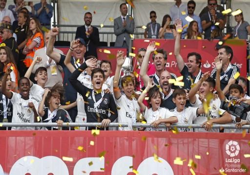 ريال مدريد بطلاً للدوري الإسباني