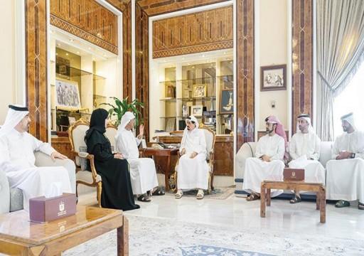 حاكم عجمان يطلع على دراسة بالاحتياجات الإسكانية حتى 2040