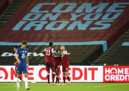 تشيلسي يهدر فرصة التقدم بترتيب الدوري الإنجليزي بخسارة قاتلة أمام ويستهام