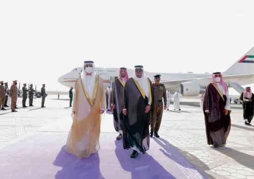مكتوم بن محمد يترأس وفد الإمارات إلى قمة الشرق الأوسط الأخضر بالرياض