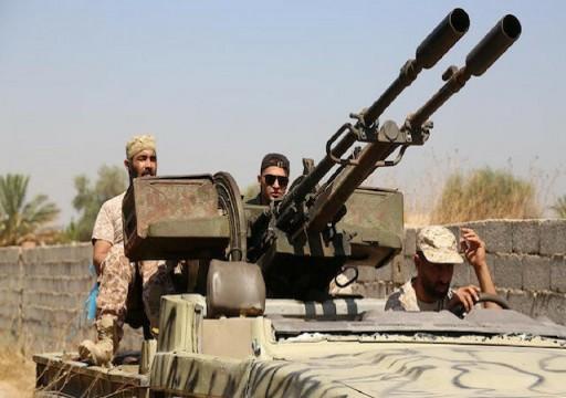 ليبيا.. قوات الوفاق تعلن أسر 5 من مليشيا حفتر جنوبي طرابلس