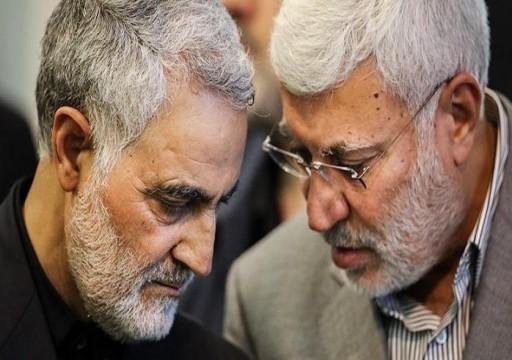 إيران تتوعد بالثأر لمقتل سليماني والمهندس