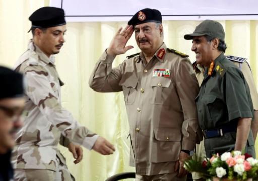 هدوء على جبهات ليبيا وواشنطن تهدد حفتر بعقوبات