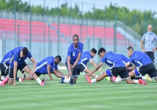 «الأبيض» يتابع تحضيراته في صربيا استعداداً لنهائيات كأس العالم