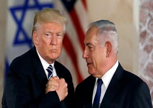 ترامب يبحث مع نتنياهو توقيع اتفاقية دفاع مشترك مع إسرائيل