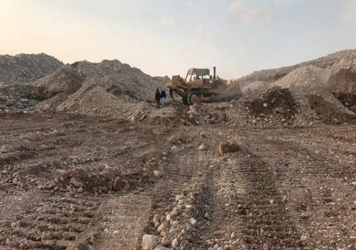 رأس الخيمة.. تعديل مجرى وادي نقب لحماية منطقة الفحلين من مياه الأمطار