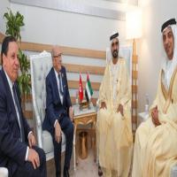 محمد بن راشد يلتقي الرئيس التونسي على هامش القمة العربية
