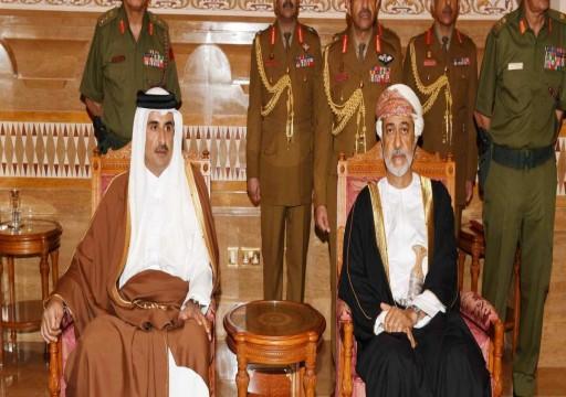 مباحثات جديدة بين أمير قطر وسلطان عُمان لتعزيز العلاقات