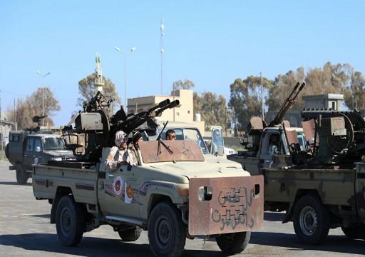 قوات الوفاق تستهدف مواقع لحفتر في محيط طرابلس وترهونة
