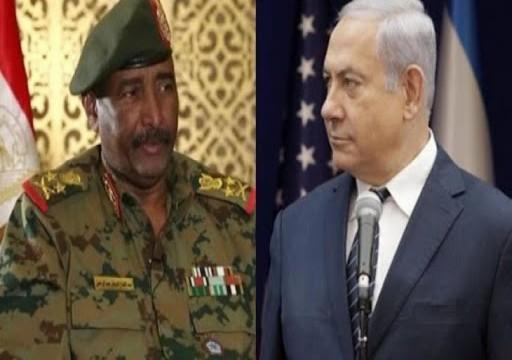 البرهان مبرراً لقائه بنتنياهو: لتحقيق مصالح الشعب السوداني العليا