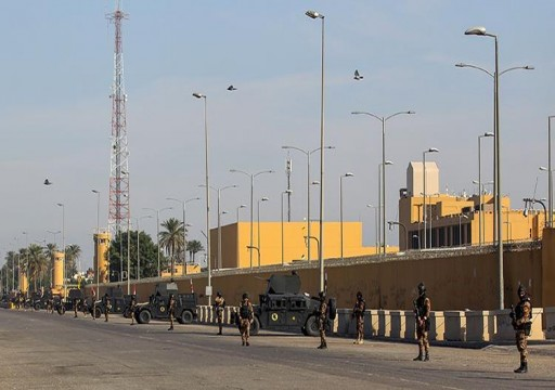 الإمارات تدين الاعتداء على السفارة الأميركية في بغداد