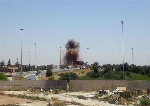 طرابلس: طيران إماراتي يقصف مستشفى ميداني جنوب مصراتة