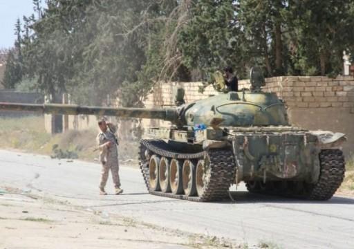 قوات الوفاق تدحر ميليشيات حفتر من  قاعدة جوية استراتيجية في طرابلس