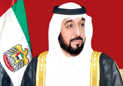 خليفة يصدر قانوناً بإنشاء دائرة البلديات والنقل