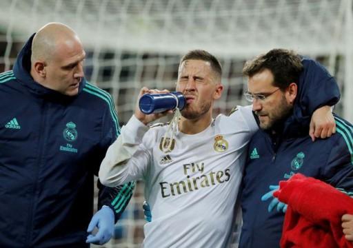 ريال مدريد يستبعد هازارد من كأس السوبر الإسبانية