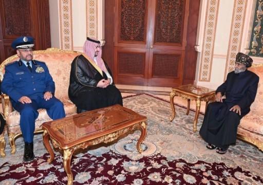سلطان عُمان يبحث مع خالد بن سلمان الملف اليمني
