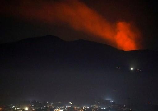 كيان الاحتلال الإسرائيلي يعترف بشن ضربات جوية في سوريا ولبنان