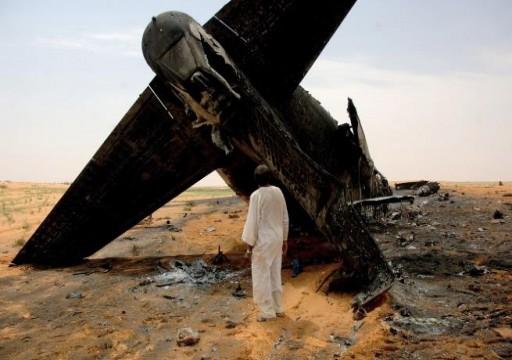 18 قتيلاً في تحطم طائرة عسكرية بالسودان بينهم قضاة وأطفال