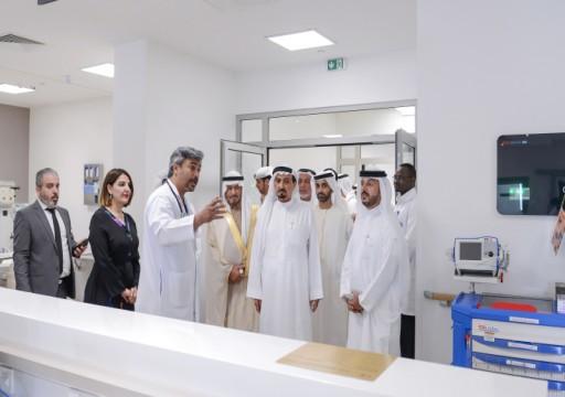 حميد النعيمي يفتح المستشفى السعودي الألماني في عجمان بتكلفة 300 مليون درهم