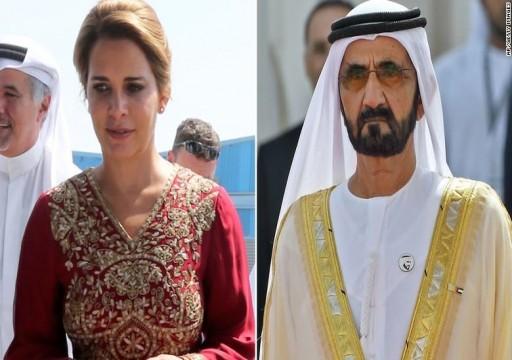 CNN: محمد بن راشد يرفع دعوى قضائية ضد زوجته الأميرة هيا