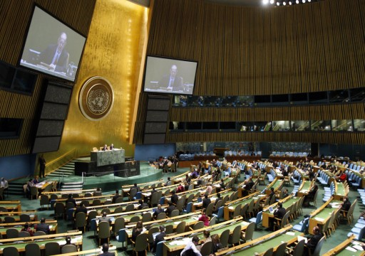الأمم المتحدة تصوت لصالح حق الشعب الفلسطيني في تقرير المصير