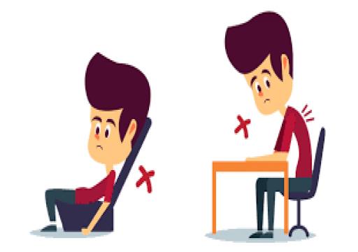 خبراء صحة يحذرون من طريقة خاطئة في الجلوس أثناء العمل