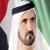 محمد بن راشد يستقبل جموع المهنئين بعيد الفطر السعيد