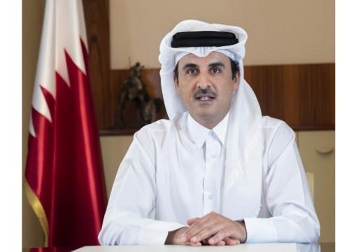 أمير قطر يعلن دعم التحالف العالمي للقاحات بـ 20 مليون دولار