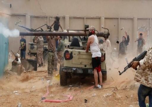 ليبيا.. اشتباكات عنيفة بمحور السبيعة جنوبي طرابلس