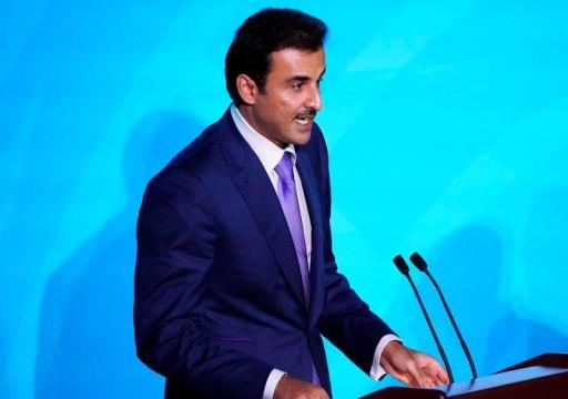 أمير قطر يتحدث عن إصلاحات جذرية ستحرر الاقتصاد من الاعتماد على الطاقة