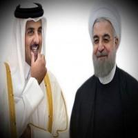 أمير قطر يثني على إيران لدعمها بلادة في أزمة الخليج